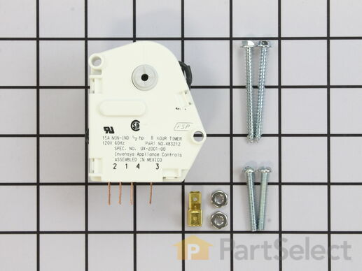 whirlpool w10822278 defrost timer partselect ca 11723171 1 s whirlpool w10822278 defrost timer