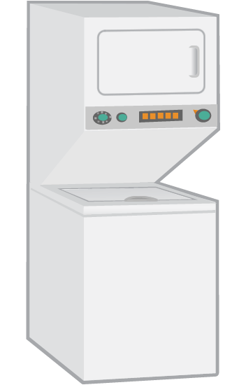 Wet3300sq1 Whirlpool Washer Dryer Combo Parts And Repair Help
